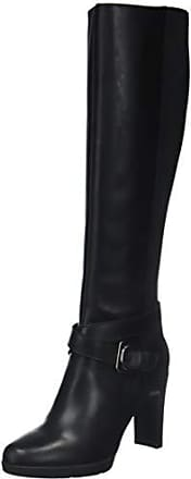 8a94f35a80351 Geox D Annya High F, Bottes Hautes Femme, Noir (Black C9999),
