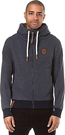 35a01f471bfb Naketano Male Zipped Jacket Birol Indigo Blue Melange, S