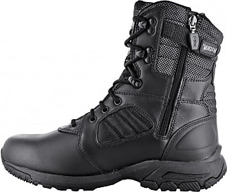 b3929d755 Magnum Hi-Tec Womens Mens Unisex Adults Lynx 8.0 Desert Tan Side Zip Boots  Black