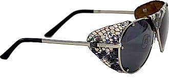 Its! Óculos Aviador Proteção Couro Cobra
