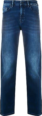 BOSS Calça jeans slim - Azul