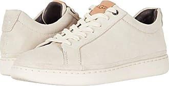 UGG Mens Cali Lace Low Sneaker, White Cap, 7 M US
