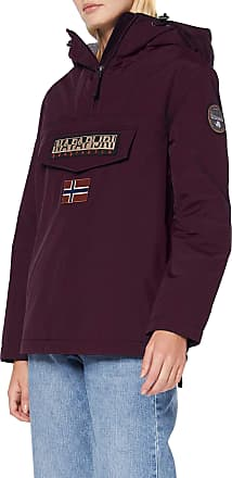 Napapijri Womens Rainforest W WINT 3 Jacket, Purple Wine V01, XS