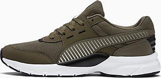 Puma Womens PUMA Future Runner Sl Trainers, Burnt Olive/White/Black, size 3.5, Shoes