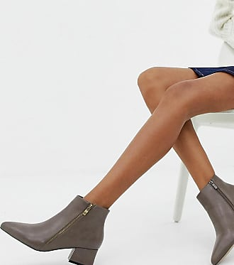 9ea34e25484 Park Lane Wide Fit Pointed Side Zip Boots - Beige