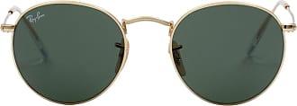 Ray-Ban Óculos de Sol Redondo Dourado - Mulher - 50 US