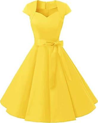 Abiball Kleider (Elegant) in Gelb: 340 Produkte bis zu −67