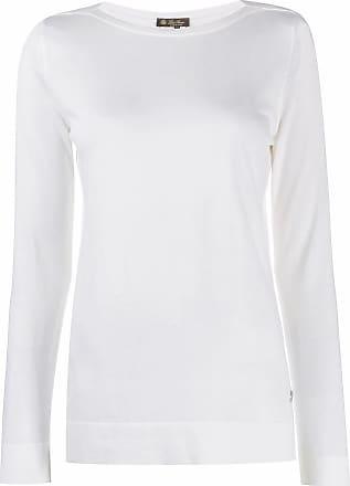 Loro Piana fine knit sweater - White