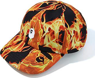A Bathing Ape Bape Flame panel cap