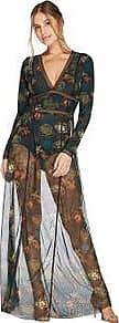 Valisere Vestido Bodydress Estampado Origami FLORAL G