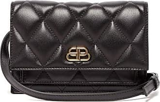 Balenciaga Sharp Xs Quilted-leather Belt Bag - Womens - Black