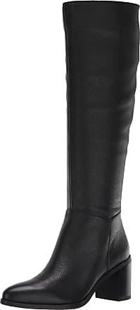 Franco Sarto Womens Brandie Knee High Boot, Black, 8.5