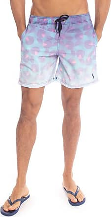 Aleatory Shorts Estampado Aleatory Circle-Roxo-P