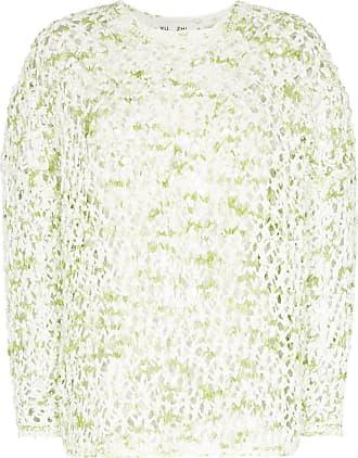 Xu Zhi crochet slouchy jumper - Green