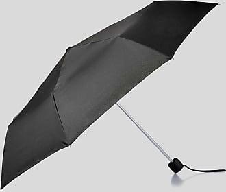 Knirps Fiber T3 Duomatic Gents Print Schirm Regenschirm Black Stripes Schwarz