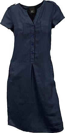 Leinenkleid dunkelblau
