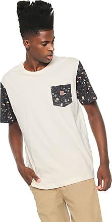 Globe Camiseta Globe Fleck Bege