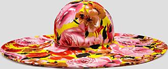 Msgm flower print hat