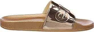 Superga Unisex Adults Slides Metallic Loafer, Pink Rose Gold S919, 8 UK