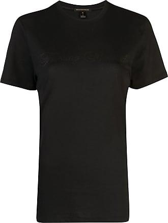 Kiki De Montparnasse tonal text T-shirt - Black