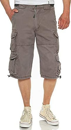Jet Lag Männer Jeans Short 007 B Cargoshort blau