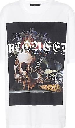 Alexander McQueen Bedrucktes T-Shirt aus Baumwolle