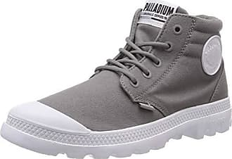 new arrival 2fe58 edba4 Palladium Blanc Lite Low Cuff, Bottes   Bottines Souples Mixte Adulte, Gris  (Titanium