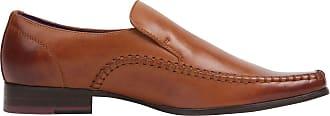 Firetrap Mens Hampton Sl Shoes Lace Up Smart Formal Loafers Footwear Brown UK 9.5