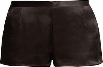 La Perla Silk-satin Pyjama Shorts - Womens - Black