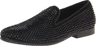 Steve Madden Mens Caviarr Slip-On Loafer,Black,10.5 M US