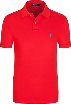 Polo Ralph Lauren Poloshirt, Slim Fit von Polo Ralph Lauren in Rot für Herren