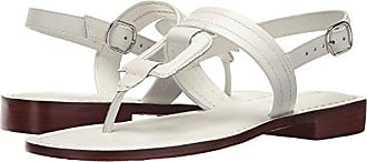 Bernardo Womens Tegan Flat Sandal, White Antique Calf, 6M M US