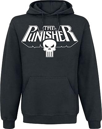 MARVEL The Punisher Logo Hooded Sweatshirt Black M
