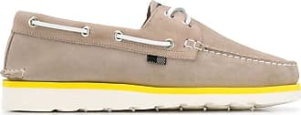Woolrich Fashion Man WFM2010903140 Beige Leather Loafers | Spring Summer 20