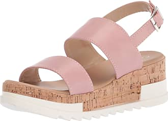 Yoki Womens BRENDA-80 Flat Sandal, Blush, 6.5 UK