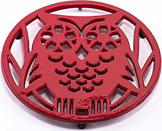 Old Dutch International 3167TR TangoWise Owl Trivet, Red