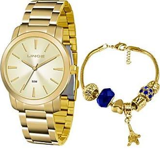 Lince Relógio Lince Feminino Ref: Lrg4506l Ku51c1kx Dourado + Semijóia