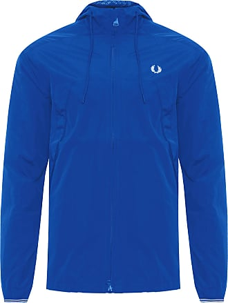 Fred Perry JAQUETA MASCULINA PANELLED THROUGH - AZUL