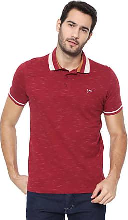 Yachtsman Camisa Polo Yachtsman Reta Logo Vinho