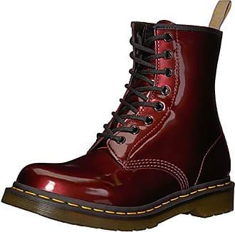 177060b02b1a Dr. Martens Damen 1460 W Vegan Chrome Kurzschaft Stiefel, Rot (Oxblood 601)