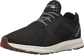 Ariat Ariat Mens Fuse Athletic Shoe, Black Mesh, 8.5 D US