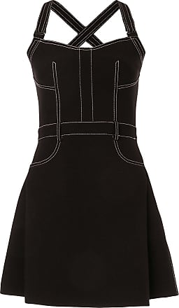 Dion Lee stitched mini-dress - Black