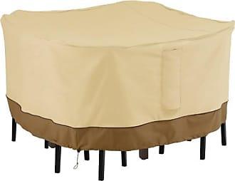 Classic Accessories Veranda Square Bar Table & Chair Set Cover