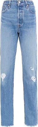 Levi's Calça Jeans 501 Original Levis Womens - Azul