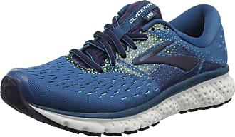 Brooks Womens Glycerin 16 Running Shoes, Blue (Blue/Navy/Nightlife 448), 4.5 UK