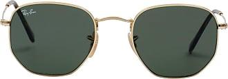 Ray-Ban Óculos de Sol Geométrico Dourado - Mulher - 51 US