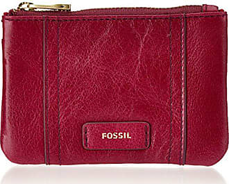 4ec5cd01c1d Fossil Dames Ellis portemonneetje, Rood (Raspberry Wine), 0.64 x 7.62 x 10.8