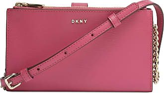 DKNY Bryant Leather Wallet Crossbody