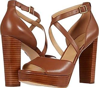 Michael Kors Marais Platform (Luggage) Womens Shoes