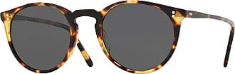 Oliver Peoples OV5183S 1407P2 Vintage DTB OMalley Sun Round Sunglasses Polaris